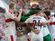 2. Liga: Stuttgart und Hannover am Ziel - Würzburg steigt ab, 1860 bangt