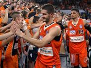 Play-offs: Ulm feiert seine Dreierkönige