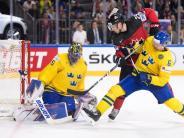 Final-Held gegen Kanada: Eishockey-Weltmeister Schweden feiert Torwart Lundqvist