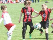 Fußball: Große Bühne für kleine Kicker