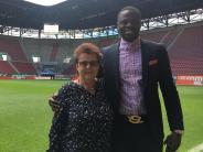FC Augsburg: Yacoubou Achirou: Früherer Publikumsliebling besucht den FCA