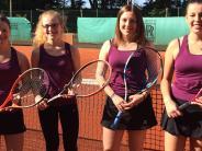 Tennis: Oberbernbacher Juniorinnen strahlen um die Wette