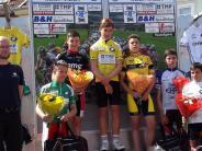 Radsport: Daniel Schrag fährt auf Platz zwei