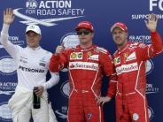 Formel 1: Räikkönen fährt vor Vettel auf Pole beim Großen Preis von Monaco