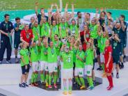 Pokal-Sieg in Köln: Damen des VfL Wolfsburg gewinnen DFB-Pokal und feiern Double