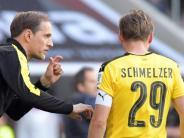 Wieder fit: BVBim Pokal-Finale mit Schmelzer