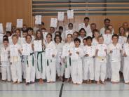 Karate: Geschwitzt, gekämpft – geschafft!