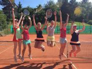 Tennis: Freudensprünge