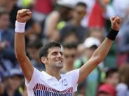 French Open: Djokovic und Nadal nehmen weiter Kurs auf Giganten-Duell