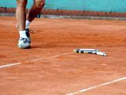 Tennis: Ein herber Schlag