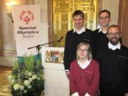 Behindertensport: Stolz auf die Porzellanlöwen