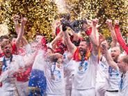 Knapper Sieg gegen Paris: Skopje holt Champions-League-Titel