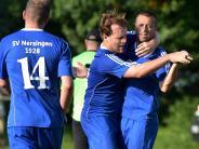 Kreisliga-Topspiel: Arm in Arm in den Aufstiegskampf