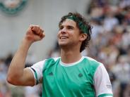 Tennis: Thiem in Gala-Form