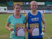 Leichtathletik: Eine Frau läuft am schnellsten