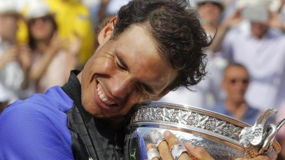 Tennis: Rafael Nadal triumphiert zum 10. Mal in Paris