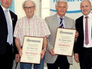 Jubiläum: Noch zwei Gründungsmitglieder im Verein