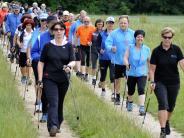 Nordic Walking: Jetzt geht's über zwei Distanzen durch die Donauauen
