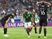 Gegen Russen um Halbfinale: Mexiko erfüllt beim Confed Cup Pflicht gegen Neuseeland