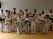 Taekwondo: Alle Prüflinge sind erfolgreich