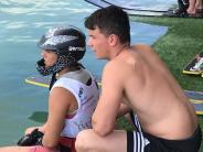 Friedberg-Wasserski: Der erste Start ist viel versprechend