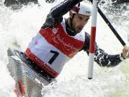 Augsburg: Slalomkanuten Behling/Becker gewinnen beim Heim-Weltcup