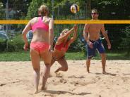 Beachvolleyball: Baggern und schmettern wie in Rio