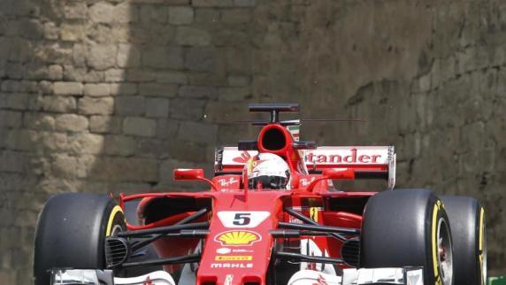 Formel 1: Vettel nur Fünfter im Baku-Training - Verstappen Schnellster