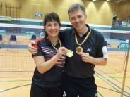 Badminton: Ein Titel und drei Treppchenplätze
