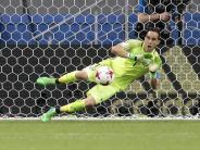 Nach 120 torlosen Minuten: Chile im Confed-Cup-Finale - Bravo hält drei Elfmeter