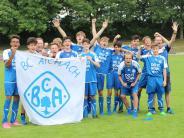 Jugend-Fußball: Aichach und Pöttmes jubeln