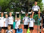 Handball: Die D-Jugend hält die TSV-Farben hoch