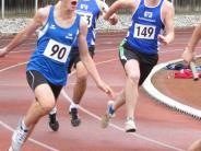 Leichtathletik: Start-Ziel-Sieg für Mario Leser über 1500 Meter