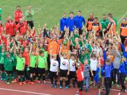 Jugendfußball: Nur leuchtende Kinderaugen