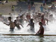 Kuhsee-Triathlon: Warum es die Sportler zum Kuhsee zieht