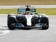 Formel 1: Hamilton düpiert Ferrari-Duo und holt Pole vor Räikkönen und Vettel