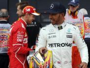 Ferrari-Duo düpiert: Hamilton holt Pole vor Räikkönen und Vettel