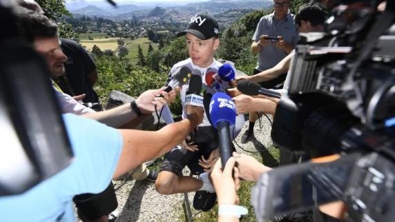 Matthews holte Tour-de-France-Tagessieg, Gelb für Froome