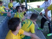 Fußball: In den Halbzeitpausen herrschte erheblicher Redebedarf