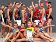 Rhythmische Gymnastik: Immer unter den Top Drei