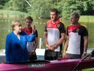 Besuch beim Sommerfest: Kanzlerin in Kienbaum - Trainingszentrum wird aufgewertet