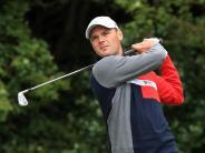 Schmerzen in der Schulter: Kaymer verspielt guten Start bei den British Open