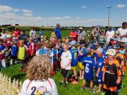 Jubiläumsturnier: Roggdener Fußballtage werden zum Hit für die Kleinsten