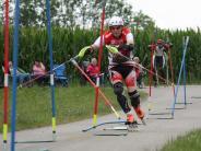 Inline-Sport: Rasant durch den Stangenwald