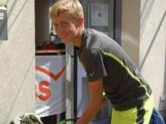 Tennisturnier: Profi werden, das ist klar