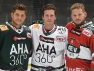 Augsburger Panther: Grün, Weiß, Rot – das sind die neuen Trikots der Panther