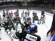 AEV: Augsburger Panther feiern Saisoneröffnung im Curt-Frenzel-Stadion
