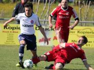 Fußball-Bezirksliga: Voller Einsatz beim Hollenbacher Heim-Debüt
