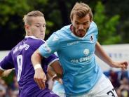 Toto-Pokal: Freche Lilaweiße, effiziente Löwen: VfR Neuburg verliert 0:4