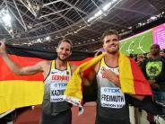 Leichtathletik-WM: WM-Silber und -Bronze für Zehnkämpfer Freimuth und Kazmirek